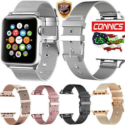 Stainless Steel iWatch Replacement Band 38/42mm Apple Watch Series 4/3/2/1 Strap