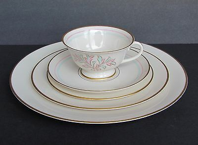 Franciscan Rossmore China Five (5) Pieces Place Setting Usa