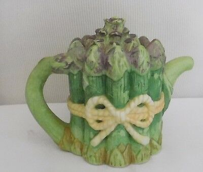 1996 Avon Season Harvest ASPARAGUS  Teapot Lot C3