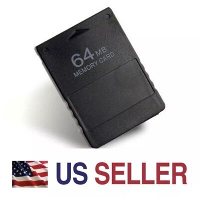New 64M 64MB Memory Card Data Module for Sony PlayStation 2 PS2 Slim Console