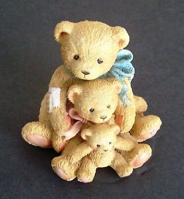 """CHERISHED TEDDIES """"Friends Come In All Sizes"""" Theador, Samantha and Tyler"""