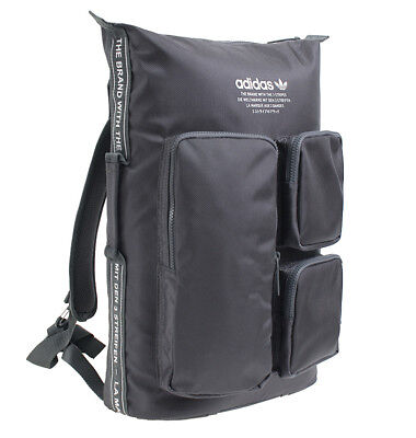 Adidas NMD Backpack Small School Collage Hiking Outdoor Sport Bag Gray  CE2391 5e19a24c1f191