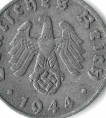 Rare Old Antique Vintage WW2 WWII Military Nazi Germany War Eagle Swastika Coin