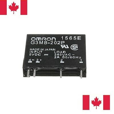 Solid State Relay 5V - G3MB-202P Control in 5V DC Output 75-240V AC 2A. Canada