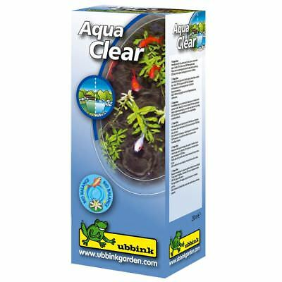 Ubbink Garden Pond Algae Treatment Clean Green Water 250 ml Aqua Clear 1064240