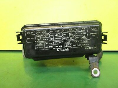 on nissan almera n15 fuse box
