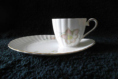 SUSIE COOPER Bone China Snack Plate & Cup Rare Vintage Collectable