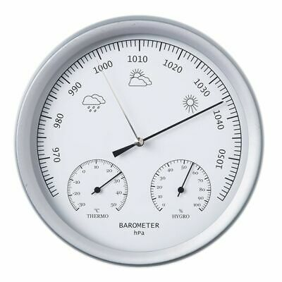 Nature 3-in-1 Barometer with Thermometer and Hygrometer Weather 20 cm 6080081