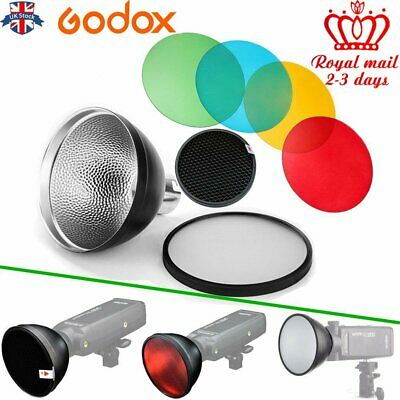 UK Godox AD-S2 Standard Reflector With AD-S11 Color Filter For AD200/AD360 Kit