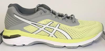 Asics GT 2000 6 Runningschuh Limelight White Grey Damen