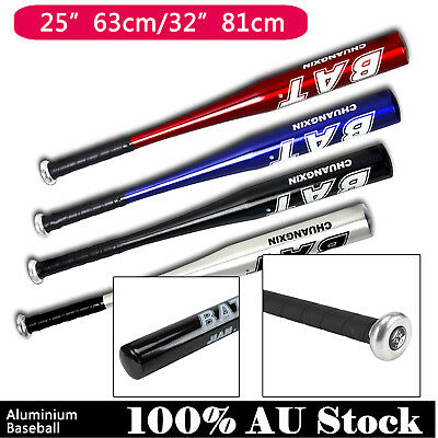 "32""81cm/25""63cm Aluminium Baseball Bat Racket Softball Outdoor Sports Brand UK"