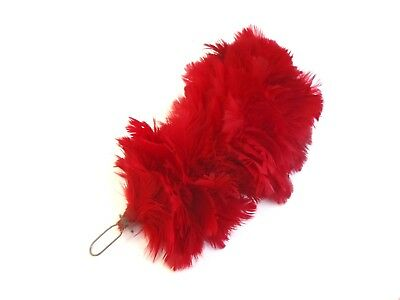 Red Feather Plume/Hackle - Army - Busby/Cap/Hat/Beret - SP3923