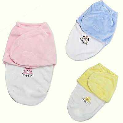 LC_ Baby Swaddle Soft Warm Envelope for Newborn Blanket Sleeping Bag Exquisite