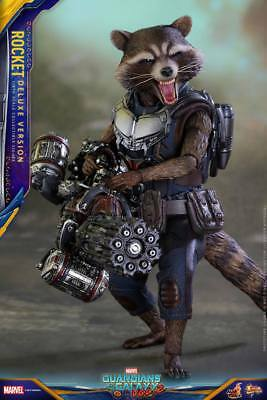 Hot Toys - Rocket Deluxe Version - Guardians of the Galaxy 2 - scale Sideshow