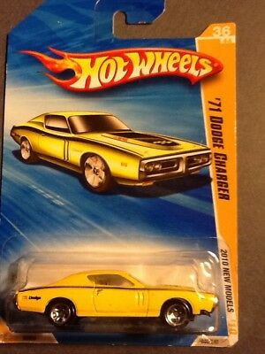 Hot Wheels 2010 New Models '71 Dodge Charger 36/44