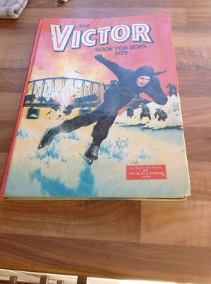 The Victor Book For Boys 1979 - Excellent