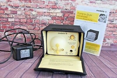 Medela Pump In Style Advanced Breast Pump Plug In Booklet Excellent Condition