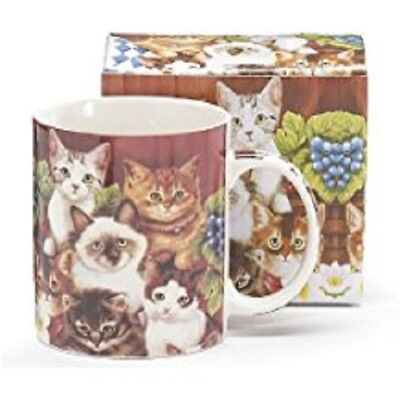 Adorable Kitten/Cat Coffee Mug/Cup BRAND NEW IN GIFT BOX