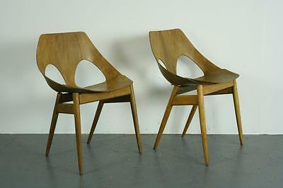 VINTAGE KANDYA CARL JACOBS FRANK GUILLE JASON CHAIRS PAIR 50s MIDCENTURY #1964