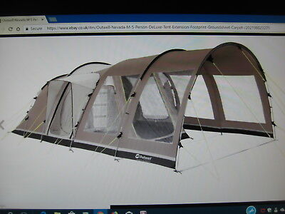 Outwell Nevada M Tent + Extras. & OUTWELL NEVADA M Tent + Extras. - £145.00 | PicClick UK