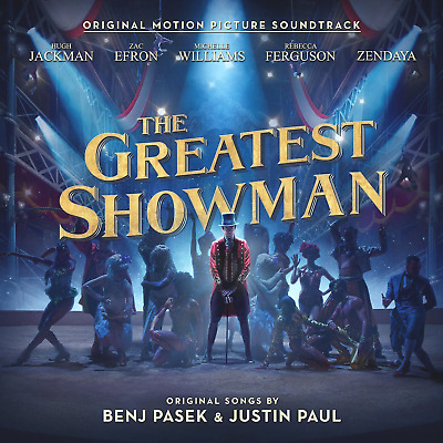THE GREATEST SHOWMAN SOUNDTRACK CD (Hugh Jackman, Zac Efron, Michelle Williams)