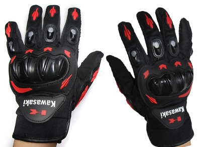 Motorcycle Gloves Motocross Guanti Moto For Kawasaki Red Ninja Energy Monster