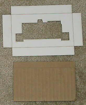 Lionel HO '57 0600 Dockside Switcher inserts, Reproduction