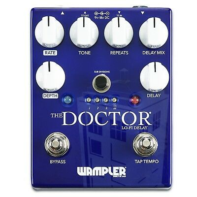 Wampler The Doctor LoFi Ambient Delay Pedal Made in USA NEU NEW