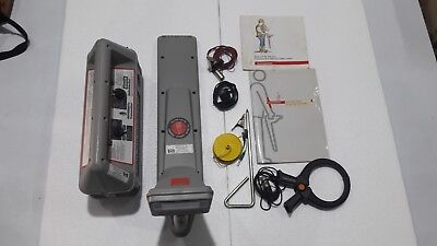 Radiodetection RD400SDTx Transmitter Cable Fault Locator ,RD400PXL w/Accessories