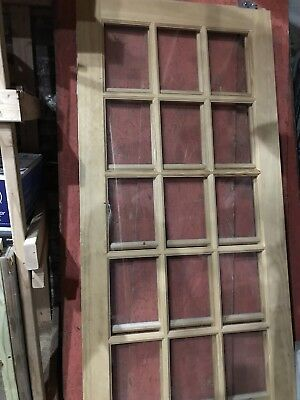 Two French Glass Doors - Sliding