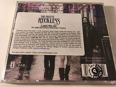 The Pretty Reckless PROMO CD Light Me Up