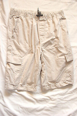 Old Navy Boy's Pull-On Cargo Shorts Sand Size XL(14-16); NWOT