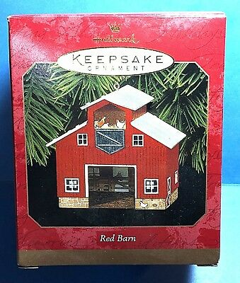 "Hallmark ""Red Barn"" Ornament 1999"