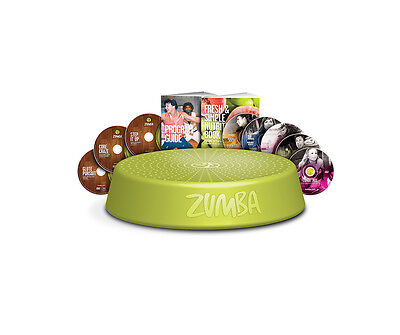 Zumba® Incredible Results 8 DVD Set with 10 workouts (OFFICIAL)