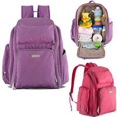Multifunctional Diaper Nappy Bag Mummy Bag Outdoor Carry Backpack Rucksack Pack