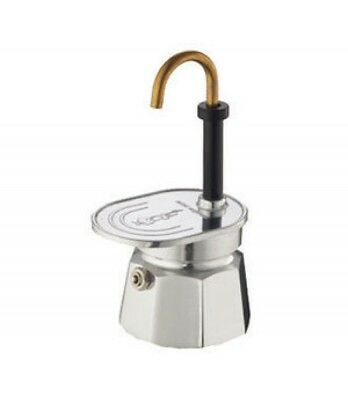 Bialetti Mini Express 1 tazza Caffettiera Moka Coffee Maker Miniexpress