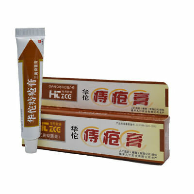 2 PCS Hemorrhoids Ointment Musk Anus Prolapse Anal Fissure Bowel Bleeding Cream