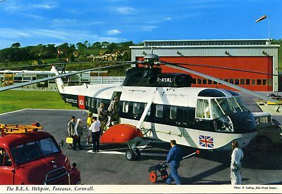 Image result for bea helicopter scilly crash
