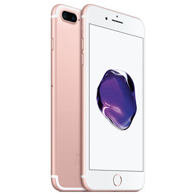 Apple iPhone 7 Plus 32GB Factory Unlocked - Rose Gold Smartphone A1661 Phone LTE