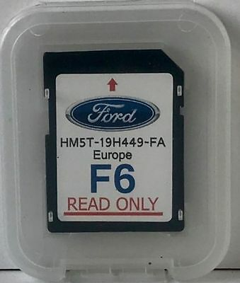 FORD F6 - SYNC2 SD CARD NAVIGATION EUROPE 2017 HM5T-19H449-FA Mondeo C-Max Focus