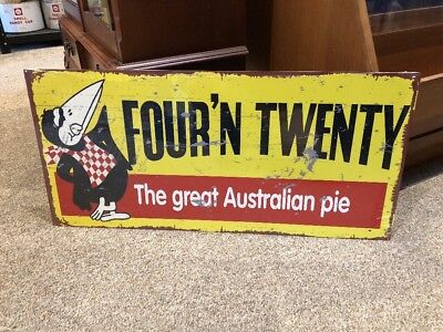 Four'n'Twenty Repro Sign