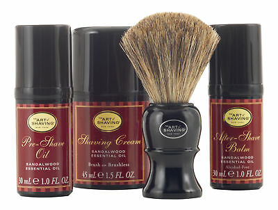 The Art of Shaving Mid Size Kit Sandalwood. Sealed Fresh
