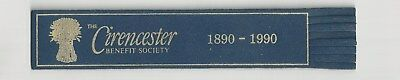 Cirencester. Blue Leather English  Bookmark.