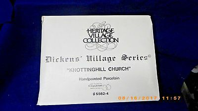 "Department 56 Dickens Village ""KnottingHill Church"" 5582-4 Dept 56 MINT IN BOX"