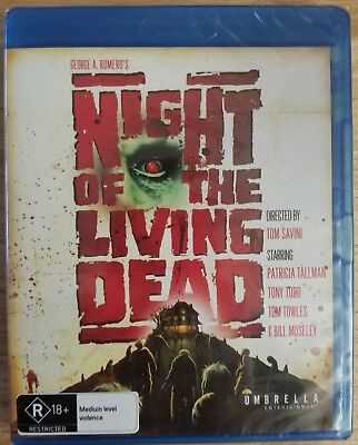 Night of the Living Dead 1990 Blu-ray Import Region B NEW Works in US Players
