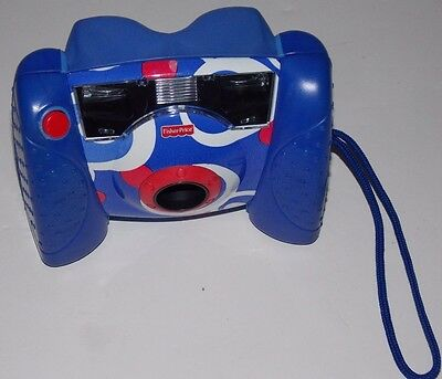 Fisher Price Kid Tough Digital Camera Blue Tested