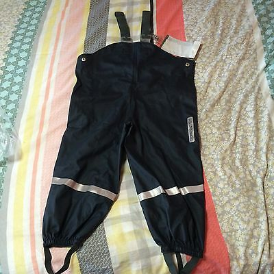 NEW DIDRIKSONS1913 Fishing/SKI Play PANTS Waterproof Coverall Sz 100 RRP $79.99