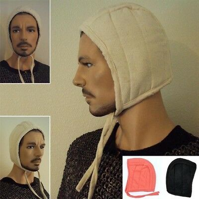 Medieval Padded Arming Cap Great Item For Re-enactment Stage And Costume Or LARP