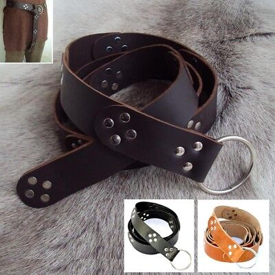 Hand Made Medieval Studded Leather Belt. Ideal For Re-enactment, Stage, LARP