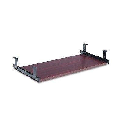 Alera Valencia Series Underdesk Keyboard/Mouse Shelf, 28 by 12, Mahogany - 38a